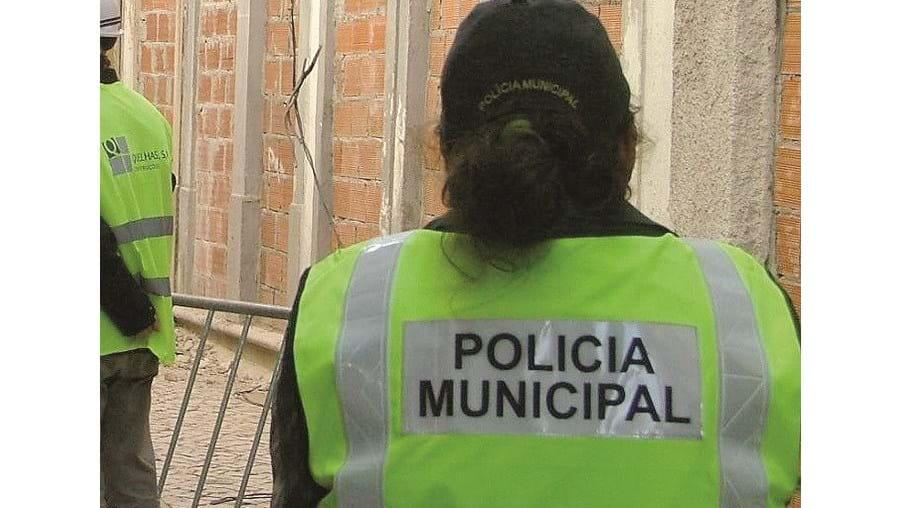 Agentes da Polícia Municipal