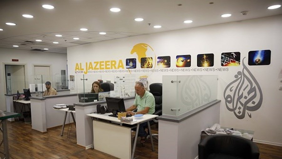Escritórios da Al-Jazeera em Jerusalém