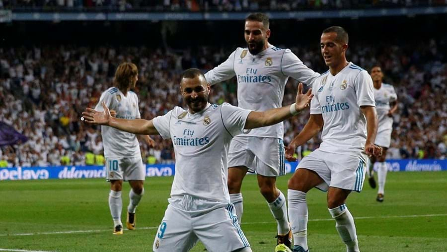 Real Madrid vence Supertaça deEspanha