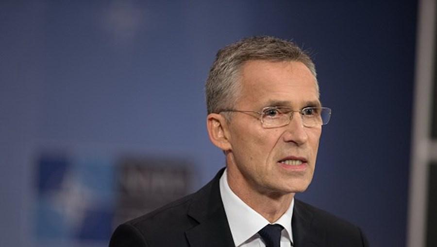 O secretário-geral da NATO, Jens Stoltenberg