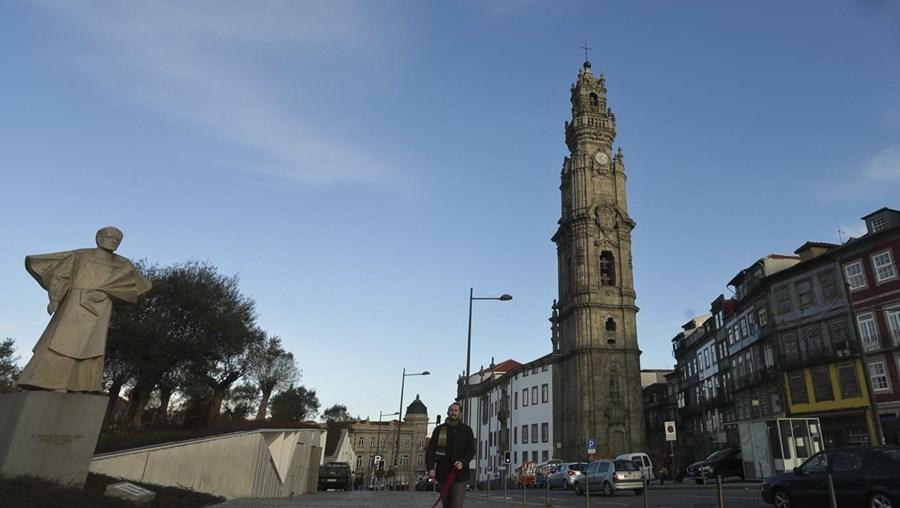 Torre dos Clérigos, no Porto