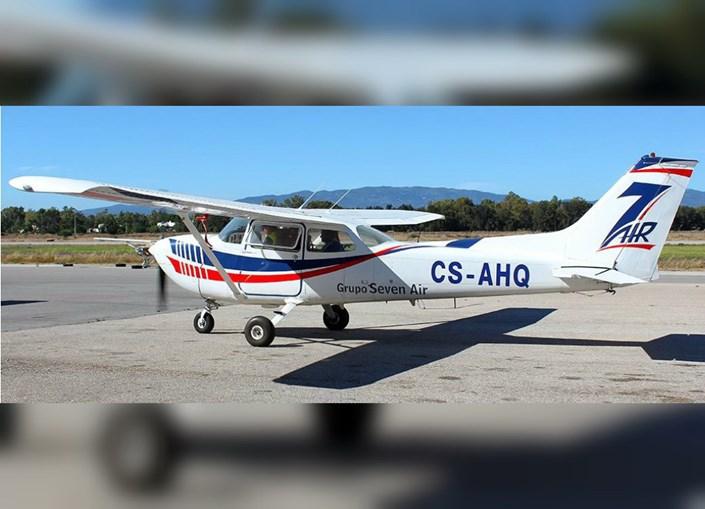 Acidente com avião Cessna que amarou na Caparica, em 2015