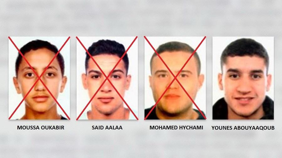 Os terroristas responsáveis pelo ataque em Barcelona