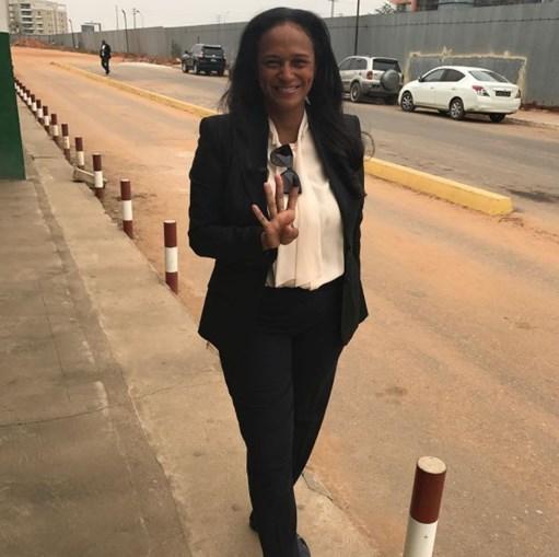 Isabel dos Santos apelou ao voto nas redes sociais