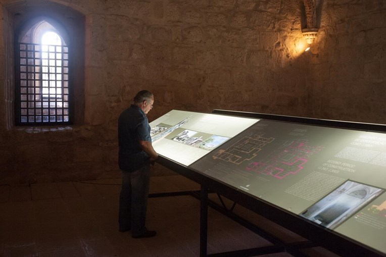 No interior do mosteiro há uma exposição sobre a sua fundação