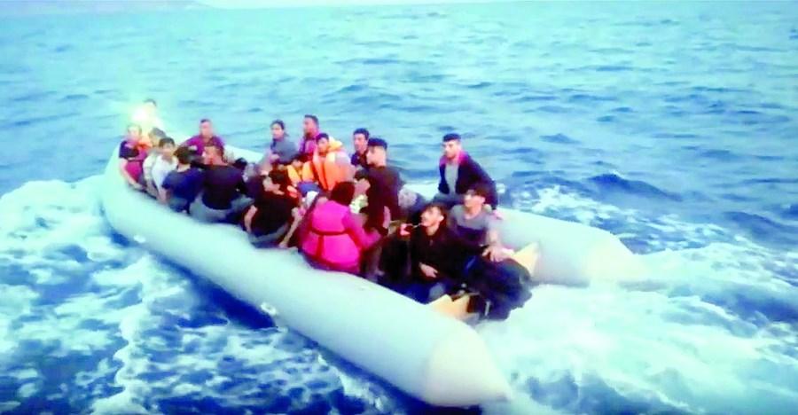 Migrantes resgatados