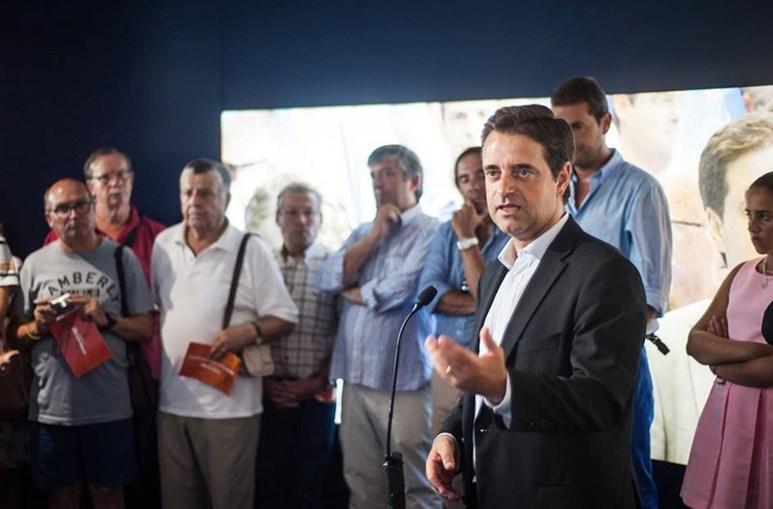 Ricardo Rio visitou as freguesias de Este e prometeu medidas para aumentar a segurança na variante do Fojo
