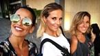 Cristina Ferreira e Rita Pereira exibem curvas no Rio