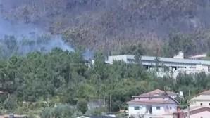 Incêndio em Penafiel