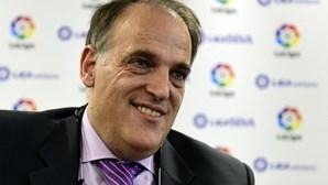Presidente da Liga espanhola rejeita segundo escalão com 24 equipas