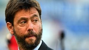 Presidente da Juventus admite que Superliga não tem condições para avançar