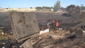 Incêndio no Montijo cortou circulação na A33