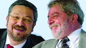 Palocci levava luvas a Lula da Silva