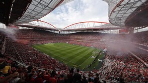 Benfica recorre de castigo de um jogo de interdição no Estádio da Luz