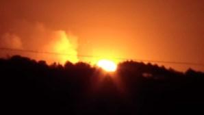 Incêndio em depósito de munições encerra espaço aéreo na Ucrânia