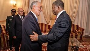 Presidente de Angola recebeu Marcelo Rebelo de Sousa em Luanda