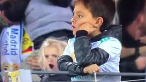 Vídeo de menina a festejar golo de Ronaldo torna-se viral