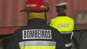 Incêndio em Ourém combatido por mais de 240 bombeiros