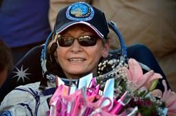 A bordo da Soyouz MS-04 estavam Peggy Whitson, o seu colega da NASA Jack Fischer e o russo Fyodor Yurchikhin, da agência espacial Roscosmos