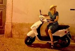 Madonna partilhou fotografias na noite lisboeta