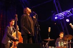 Salvador Sobral em palco