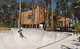 Espaço para skaters