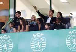 Cristiano Ronaldo no estádio de Alvalade