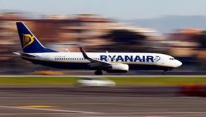 Avião da companhia Ryanair