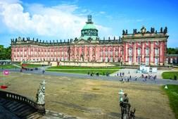 Novo Palácio de Potsdam erguido no século XVII