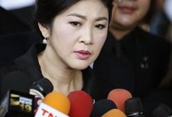 Yingluck Shinawatra, antiga primeira-ministra da Tailândia