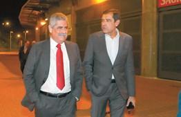 José Eduardo Moniz e Luís Filipe Vieira
