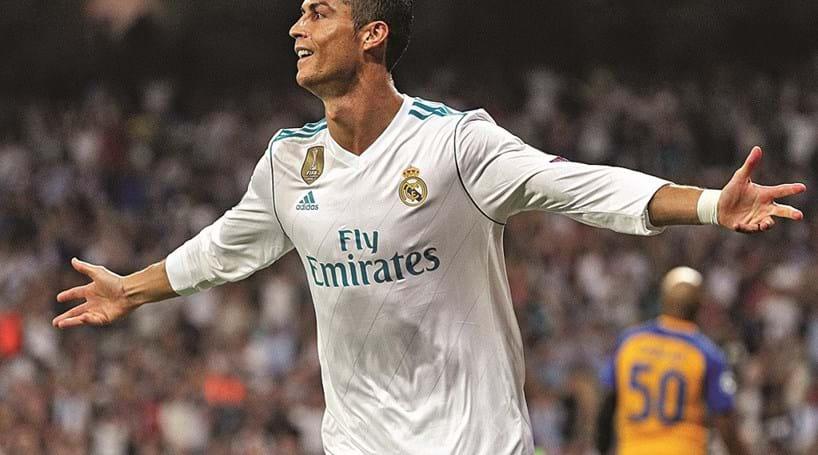 Cristiano Ronaldo marca 107.º golo na Champions - Futebol - Correio ... 1ea6d27835246