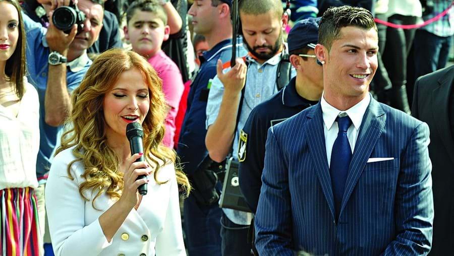 Cristina Ferreira e Cristiano Ronaldo somam milhões de seguidores nas principais redes sociais