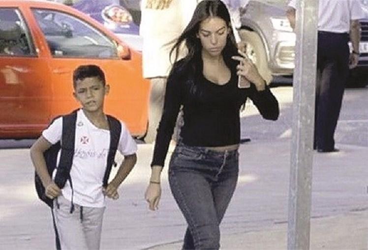 Cristianinho e Georgina