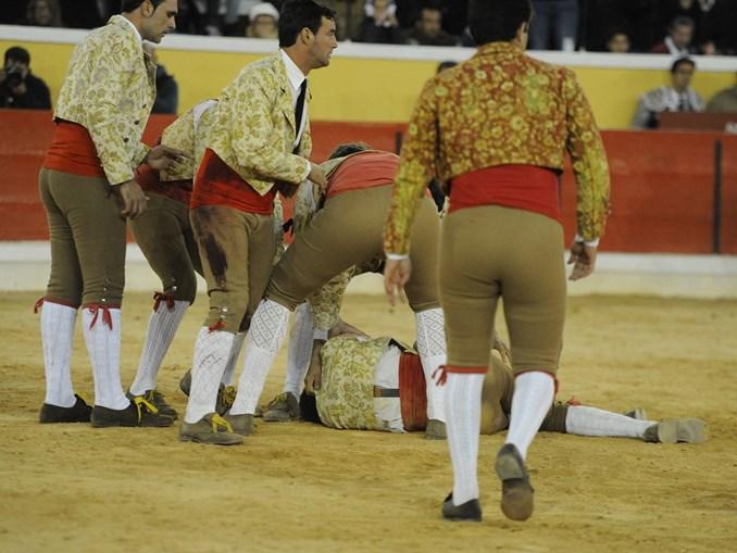 Fernando Quintela na pega que lhe tirou a vida