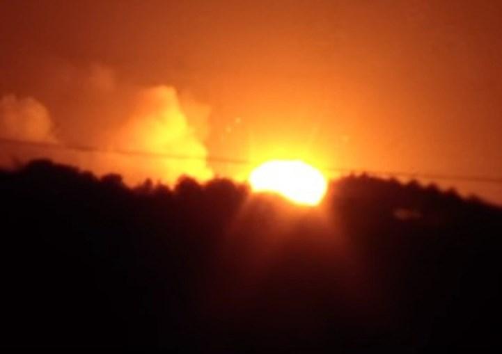 Imagens das explosões na Ucrânia