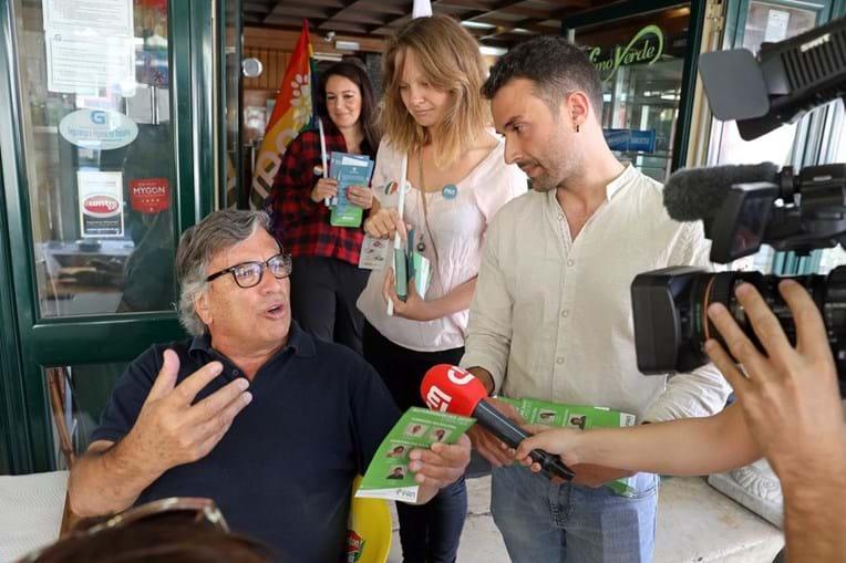Francisco Guerreiro é o candidato do PAN (partido Pessoas-Animais-Natureza) na corrida à Câmara Municipal de Cascias nas autárquicas de 1 de outubro