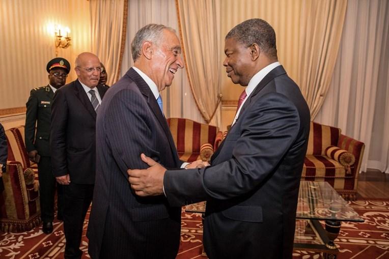 Marcelo Rebelo de Sousa e João Lourenço