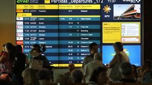 Operação no Aeroporto da Madeira mantém-se condicionada devido ao vento forte