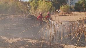 Fogo força evacuação de escola no Barreiro