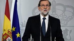 Rajoy pede ao executivo catalão que renuncie à independência