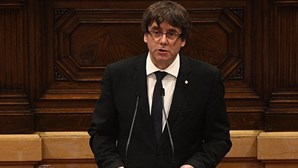 Puigdemont está em Bruxelas no dia em que governo da Catalunha é acusado de rebelião