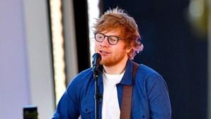 Ed Sheeran processado por alegado plágio a sucesso de Marvin Gaye