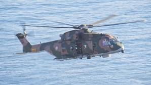 Pescador resgatado de helicóptero após cair ao mar em Sagres