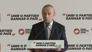 """Santana Lopes lança bases do seu programa """"Um Portugal em Ideias"""""""