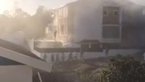 Jovem de 12 anos encurralado pelas chamas em Vale de Milhaços