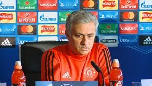 """LC: """"Benfica é melhor do que outros adversários do grupo"""" - José Mourinho"""