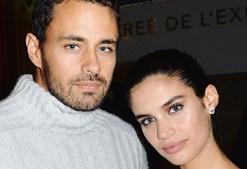 Sara Sampaio com o namorado, Oliver Ripley