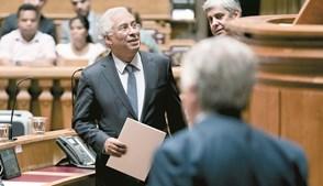 Primeiro-ministro, António Costa, muniu-se de novidades para apresentar aos deputados no regresso aos debates quinzenais após as férias de verão