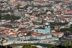 Cidade de Angra do Heroísmo, na ilha Terceira